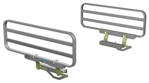 Bed Side and Assist Rails - Bed Side And Assist Rails : Span America